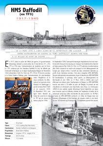 Fiche Epave HMS Daffodil