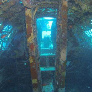 L'intérieur du B17