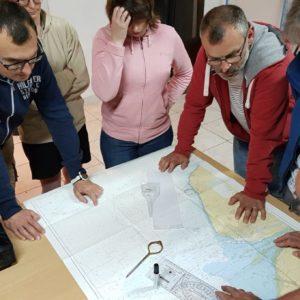 Corse 2017 - Les apnéistes découvrent la navigation traditionnelle