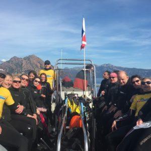 Corse 2017 - Bateau des apnéistes